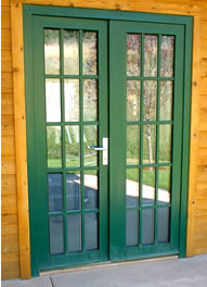 French door, inswing with low threshold